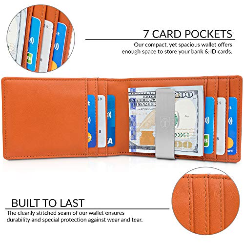 TRAVANDO Money Clip Wallet RIO
