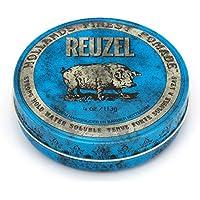 Pomada Reuzel azul sujeción fuerte y alto brillo