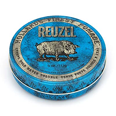 Reuzel Strong Hold Pomade Waterbased (Blue)