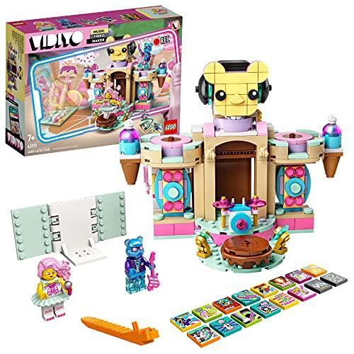 LEGO 43111 VIDIYO Candy Castle Stage, Creador de Vídeos Musicales de Juguete,...