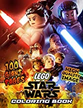 LEGO Star Wars Coloring Book: Great Coloring Book for Kids and Fans – GIANT 100 Pages with High Quality Images