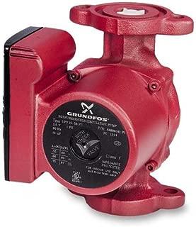 3-Speed Grundfos Pump Hot Water Circulator Pump Model UPS15-58FC; 115V