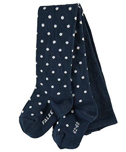 FALKE FALKE Babys Strumpfhosen Little Dot, Baumwollmischung, 1 Stück, Blau (Marine 6120), Größe: 62-68
