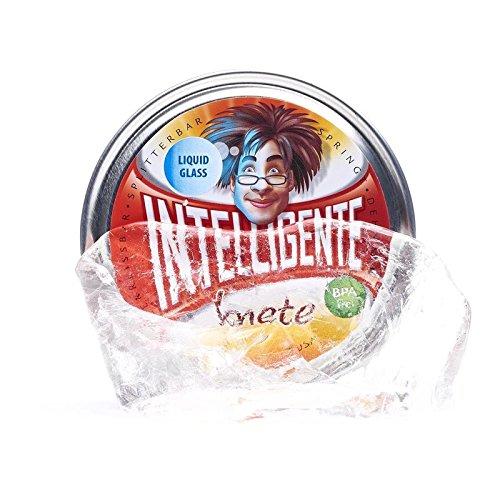 Thinking Putty Intelligente Knete - Liquid Glass - Transparent