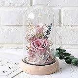 Greatlizard Feurs artificielles, Eternal Rose Forever Flowers Handmade Never Withered Roses Fleurs artificielles décoratives