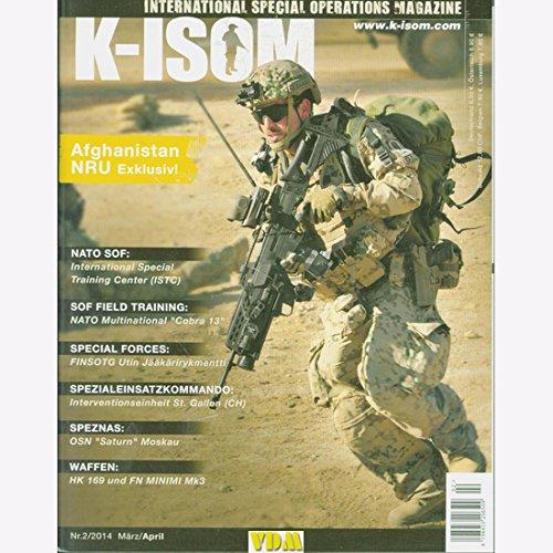 K-ISOM 2/2014 Spezialkräfte Magazin Kommando Bundeswehr Waffe Eliteeinheiten NRU