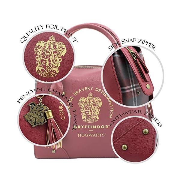 Fashion Shopping Harry Potter Purse Designer Handbag Hogwarts Houses Womens Top Handle Shoulder Satchel