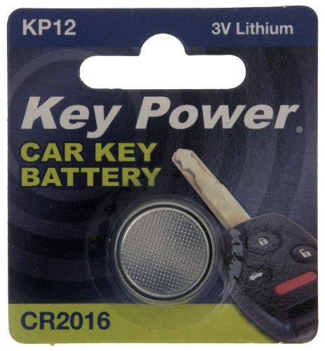 Key Power CR2016-KP Pile au Lithium pour clé de Voiture 3 V
