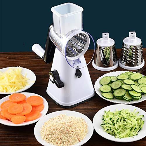 YQWFF Ayudante de Cocina 3 In1 Cortador Manual de Verduras...