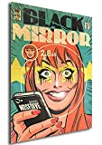 Instabuy Poster Black Mirror Vintage 01 - A3 (42x30 cm)