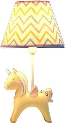 Pink Pony Table lamp Warm lamp Children's Table lamp Cartoon