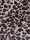 Pelz Stoff Fellimitat Tierdruck Panther Breite 150 cm ab 50