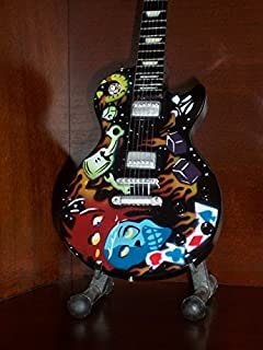 Mini Guitar METALLICA JAMES HETFIELD Kustom Kulture DISPLAY