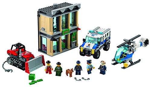 LEGO City Police Bulldozer Break-In 60140 Kit de construcción