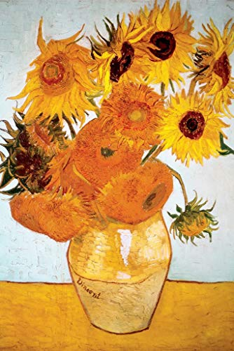 Sunflowers 1888 by Vincent Van Gogh - Art Poster 24in x 36in