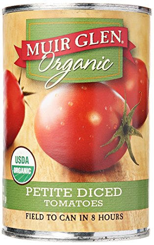 Muir Glen Tomato Diced Petite, 14.5 oz