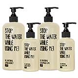 Juego de jabón diario «Stop the water while use me!»