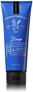 Bath and Body Works Aromatherapy Sleep Lavender & Cedarwood Body Cream. 8 Oz.