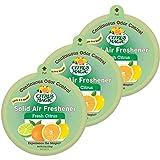 Citrus Magic Solid Air Freshener, fresh citrus, 8 oz, pack of 3 (total...
