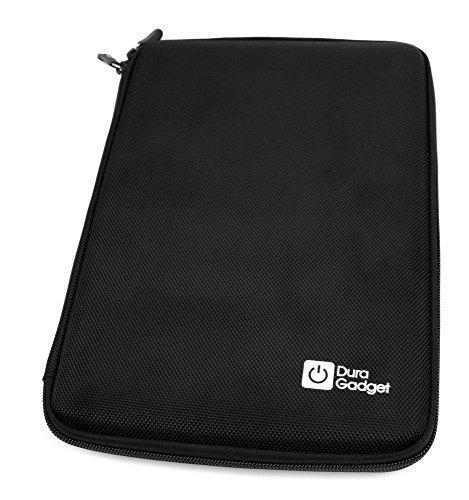 DURAGADGET Funda Tapa Dura Negra para Tablet SPC Glow 10 - Protege Su Dispositivo De Golpes