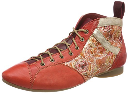 Think! Damen Guad_282288 Desert Boots, Rot (Chilli/Kombi 76), 39 EU