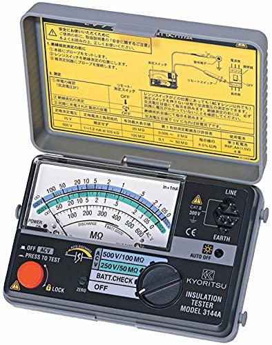 共立電気計器 (KYORITSU) 3145A キューメグ 2レンジ小型絶縁抵抗計