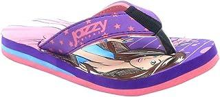 Hopscotch Boys Synthetic Flip Flop in Purple Color