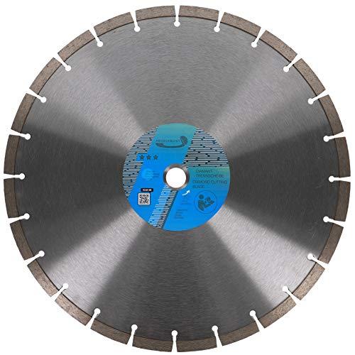 PRODIAMANT Disco de corte de diamante universal (350 x 20 mm, segmento de 10 mm)