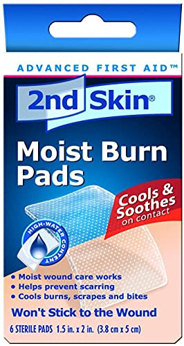 2nd Skin Moist Burn Pads, 2Nd Skin Mst Burn Pad 3X4 S, (1 BOX, 3 EACH)