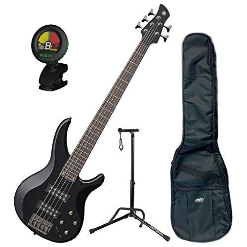 Yamaha TRBX305 BL TRBX-305 Black 5 String Bass Guitar w/Gig Bag