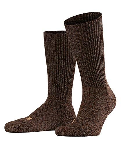 FALKE Unisex Socken Walkie Ergo, Schurwolle Polyamid, 1 Paar, Braun (Dark Brown...
