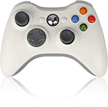 $26 » Sollop Wireless Controller Gamepad for Windows & Xbox 360 Built-in Dual Vibration Support PC with 2.4Ghz Wireless Connection Technology (White)