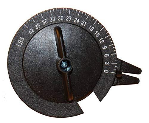 fdfd Badmintonschläger-Manometer, Badminton-Schläger-Manometer, Federgewicht Wiegen Sie Ihren aktuellen Schlägerdruck