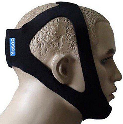 Correa de barbilla ajustable para dejar de roncar remedio profesional para anti ronquido