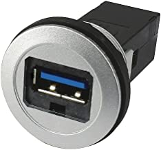 HARTING 9454521902 in-Line Adaptor, USB 3.0 A, Jack, 9 Positions, USB 3.0 A, Receptacle, 9 Positions