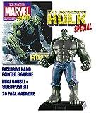 Eaglemoss Figura de Plomo Marvel Figurine Collection Especial Hulk Variante Gris