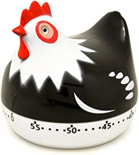 Kitchen Timer Clock Cute Chicken Shape Cooking Timers Countdown Cooking Mechanical Countdown Digital Clock Timer Egg Timer...