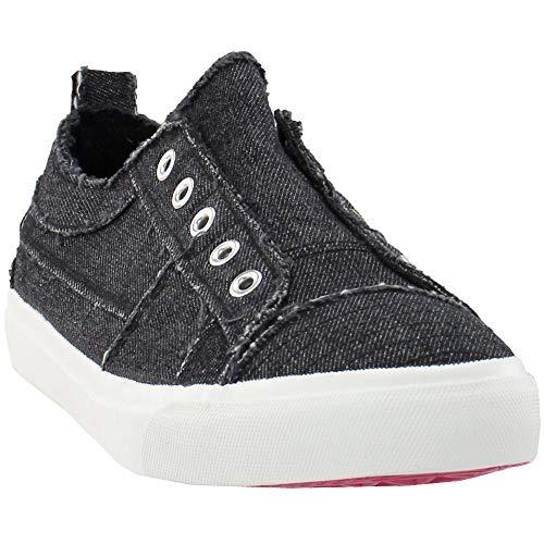 Corkys Footwear Womens Corkys Babalu Casual Slip On Sneaker 9 B Black