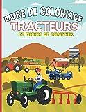 Livre De Coloriage Tracteurs Et ...