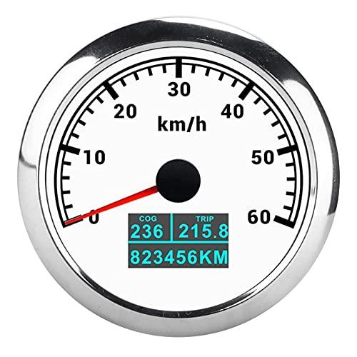 Velocímetro GPS, Odómetro De Kilometraje Total De Viaje COG 3 En 1 IP67 Impermeable A Prueba De Polvo Para Barcos Marinos, Camiones