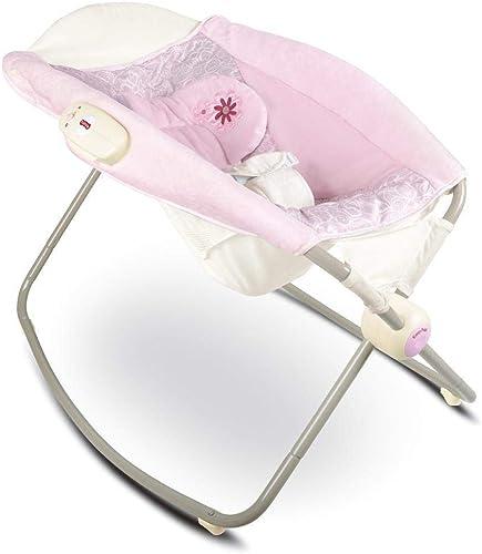 GZ Prahler Baby, Baby Schaukelstuhl Kinder Schaukelstuhl Neugeborenes Baby Schaukel Schaukel Rocker,Rosa,1