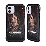 Head Case Designs Officially Licensed by AMC The Walking Dead Daryl Season 8 Portraits Hybrid Case Compatible with Apple iPhone 11