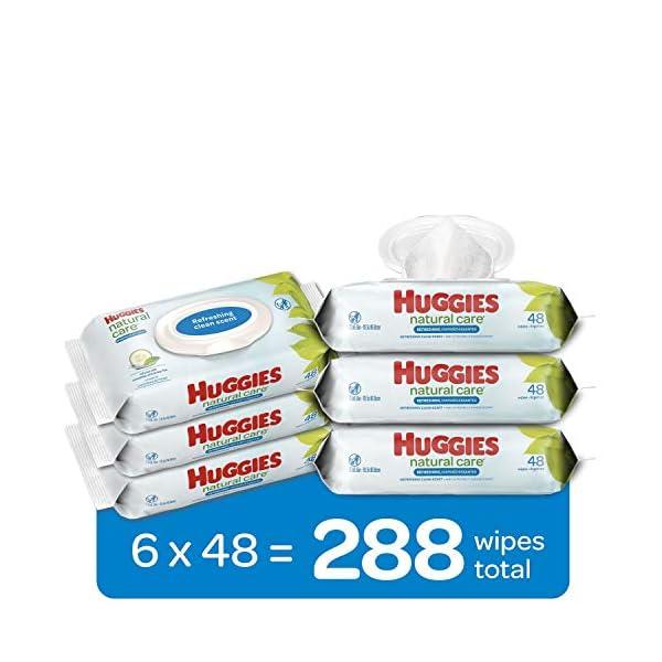 HUGGIES Refreshing Clean Baby Wipes