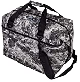 AO Coolers Elements Soft Cooler, 12 Pack, Manta, Grey Camo, 12 Pack,AOELMA12