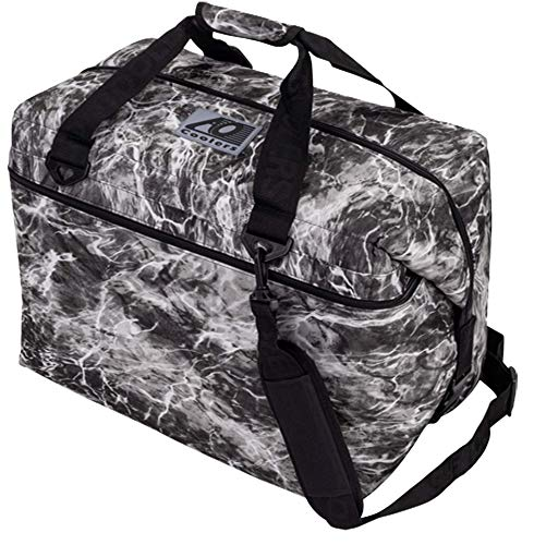 AO Coolers Elements Soft Cooler, 36 Pack, Manta, Grey Camo, 36 Pack