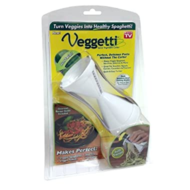 Veggetti Ontel Spiral Vegetable Slicer, Makes Veggie Pasta