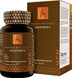Biovetia Men Select Nootropx Brain Performance Support para él, Focus Memory Clarity, solo una vez al día, 30 cápsulas