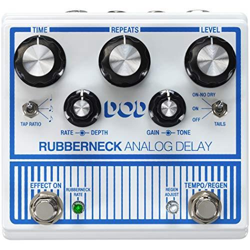 DOD Rubberneck Electric Guitar Analog Delay Pedal DOD0015