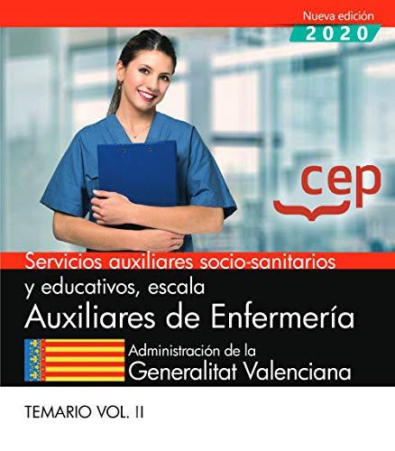 Auxiliares De Enfermeria Valencia. Temario 2