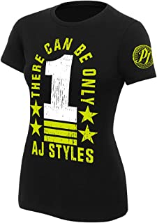 WWE AJ Styles There Can Be Only 1